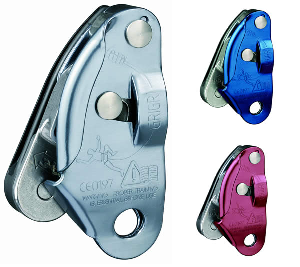 photo: Petzl Grigri belay/rappel device
