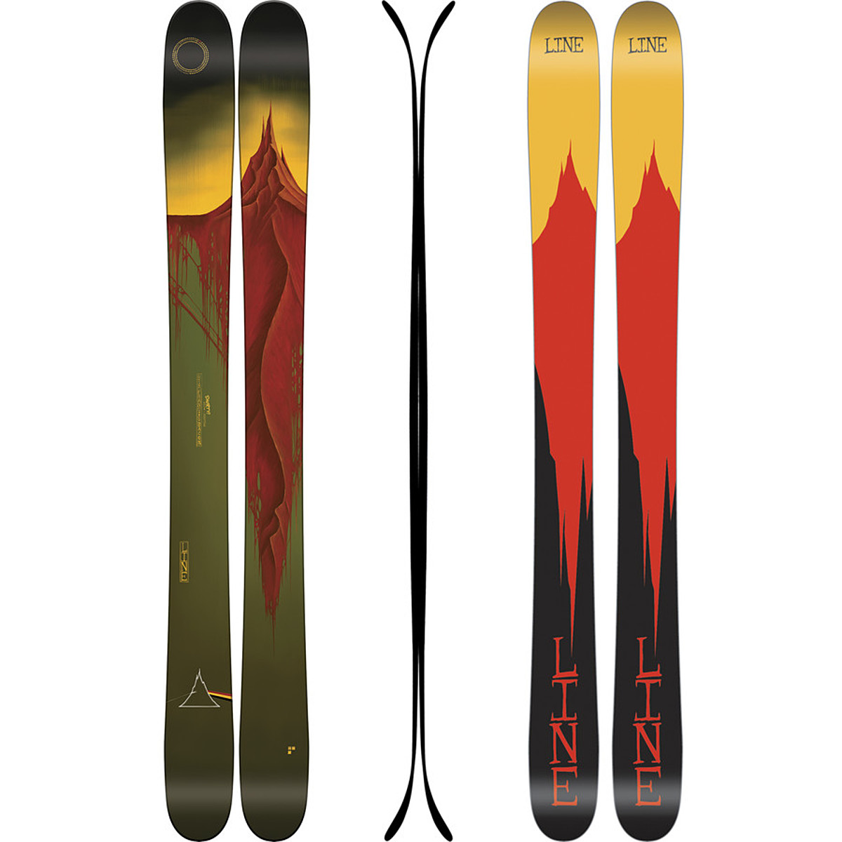 Line Skis Sir Francis Bacon Shorty Ski