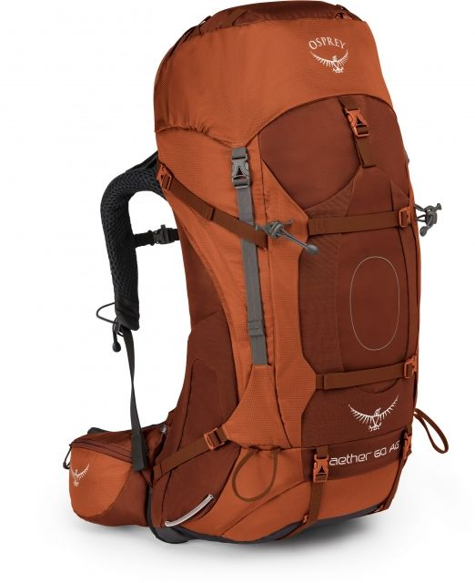 photo: Osprey Aether 60 weekend pack (50-69l)