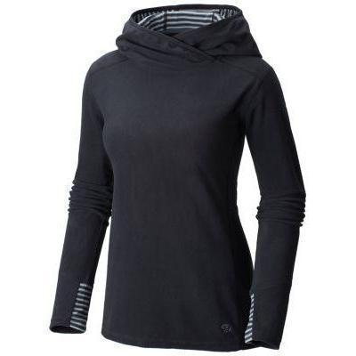photo: Mountain Hardwear Microchill Lite Pullover Hoody fleece top