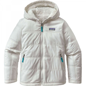 photo: Patagonia Reversible Fuzzy Puff Hoody synthetic insulated jacket