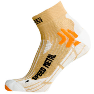 photo: X-Socks Speed Metal Sock running sock