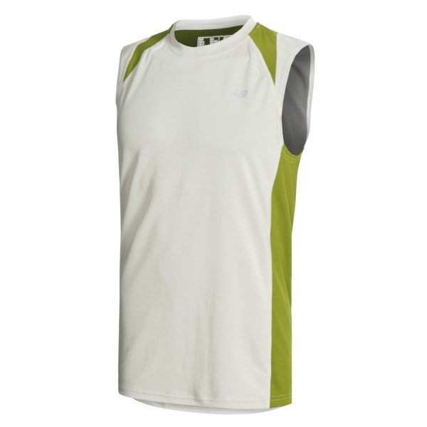 photo: New Balance Cocona Sleeveless short sleeve performance top