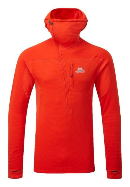 photo: Mountain Equipment Eclipse Hooded Zip-T fleece top
