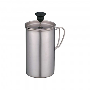 photo: Snow Peak Titanium Cafe Press coffee press/filter