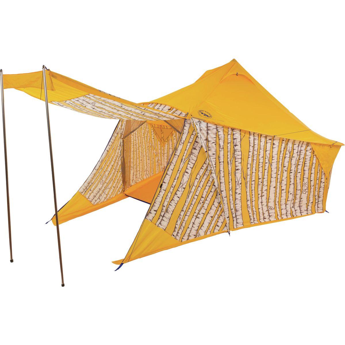 photo: Big Agnes Mint Saloon warm weather tent