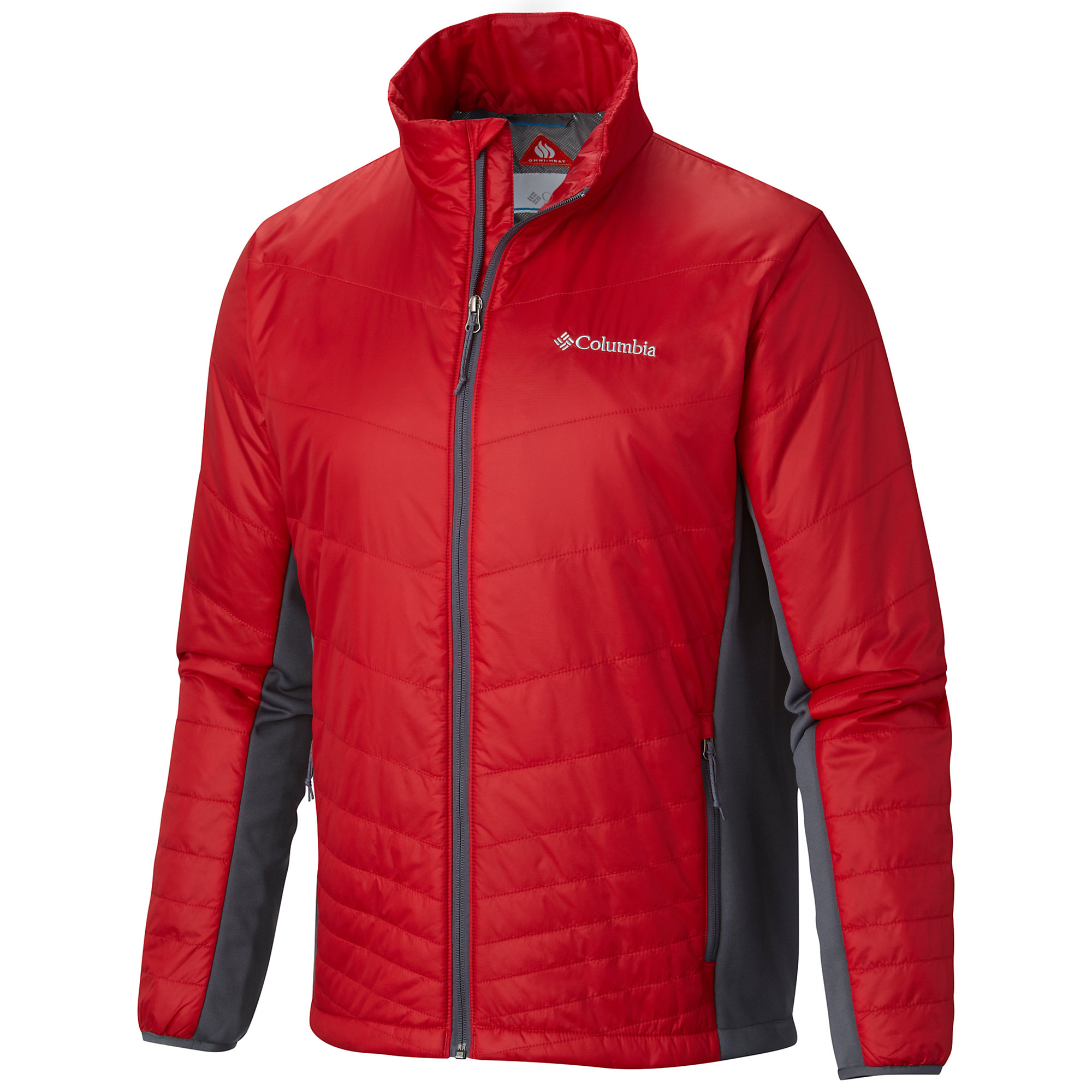 photo: Columbia Mighty Lite Hybrid Jacket synthetic insulated jacket