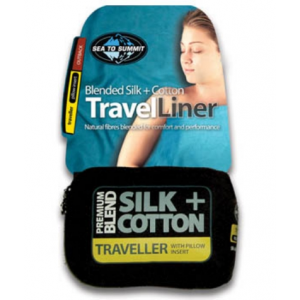 photo: Sea to Summit Premium Blend Silk+Cotton Liner sleeping bag liner