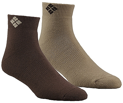 photo: Columbia Cushioned Wool Quarter Sock hiking/backpacking sock