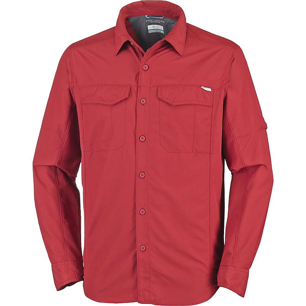 photo: Columbia Silver Ridge Long Sleeve Shirt hiking shirt