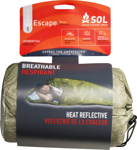 photo: SOL Escape Bivvy emergency shelter