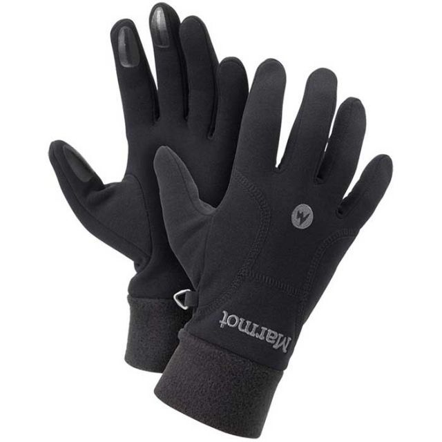 photo: Marmot Power Stretch Glove fleece glove/mitten