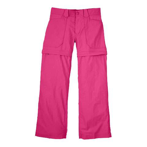 photo: The North Face Girls' Zenith Cargo Short hiking short