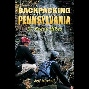 photo: Stackpole Books Backpacking Pennsylvania - 37 Great Hikes us northeast guidebook