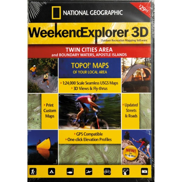 photo: National Geographic Weekend Explorer 3D - Northern California CD-ROM us pacific states map application