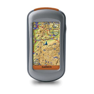 photo: Garmin Oregon 300 handheld gps receiver