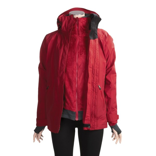 photo: Columbia Wooly Mountain Parka component (3-in-1) jacket