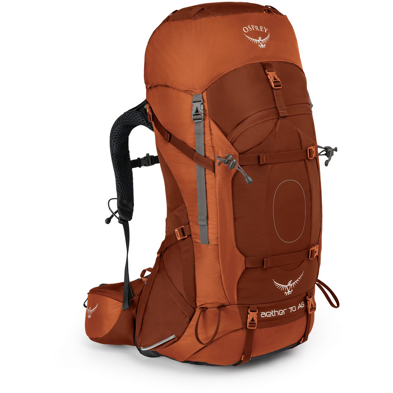 photo: Osprey Aether AG 70 expedition pack (70l+)