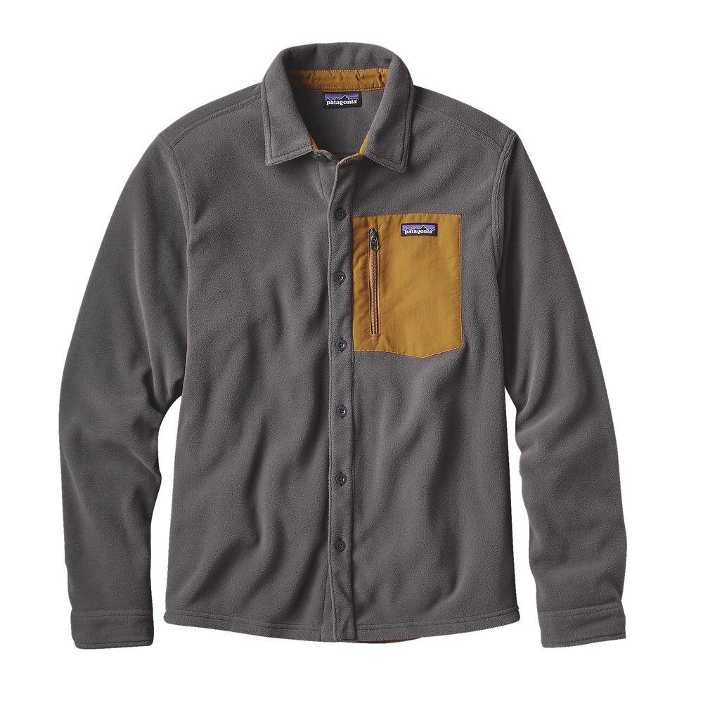 photo: Patagonia Micro D Shirt fleece top