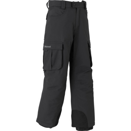 photo: Marmot Boys' Cargo Pant snowsport pant