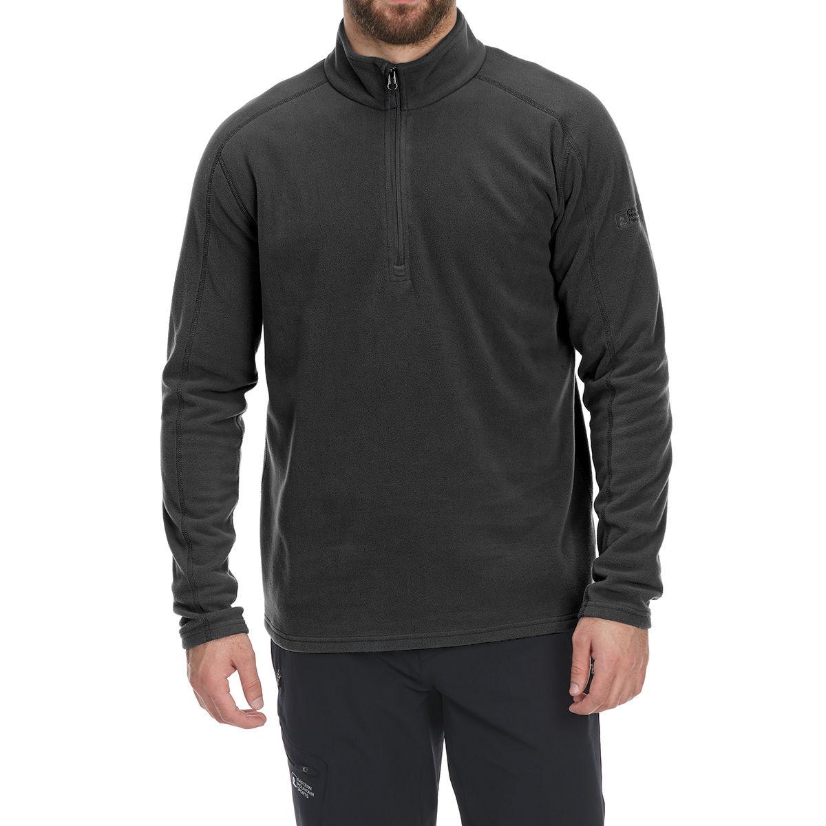 photo: EMS Men's Classic 1/4 Zip Micro Fleece fleece top