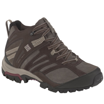 photo: Columbia Shasta Ridge Mid Omni-Tech hiking boot