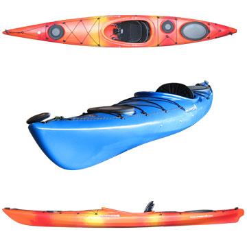 photo: Wilderness Systems Tsunami 135 touring kayak