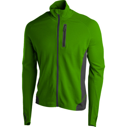 photo: Smartwool Women's TML Light SportKnit Full-Zip Top long sleeve performance top
