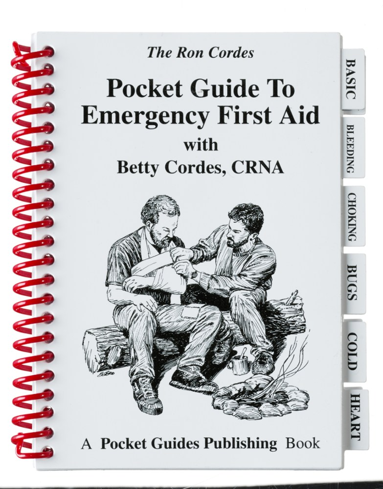 photo: Northern Lights Publishing Pocket Guide to Emergency First Aid first aid/safety/survival book