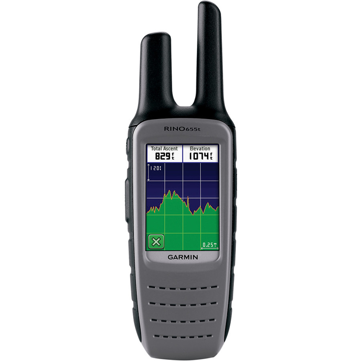 Garmin Rino 655t GPS/2-Way Radio