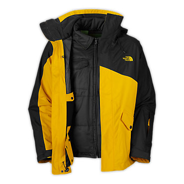 photo: The North Face Lukin TriClimate Jacket component (3-in-1) jacket