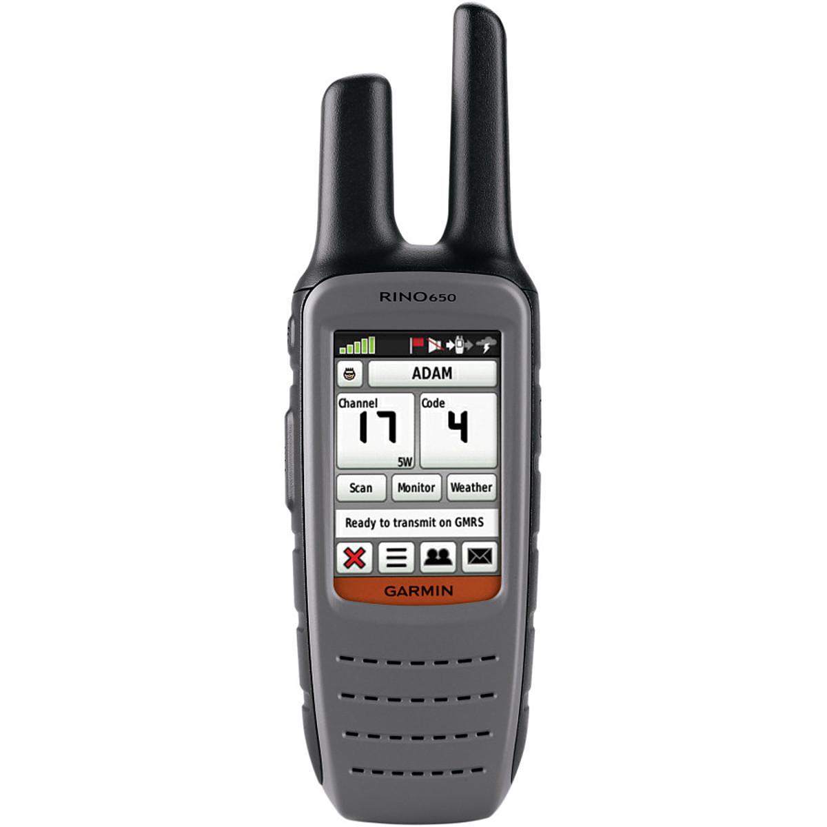 photo: Garmin Rino 650 handheld gps receiver