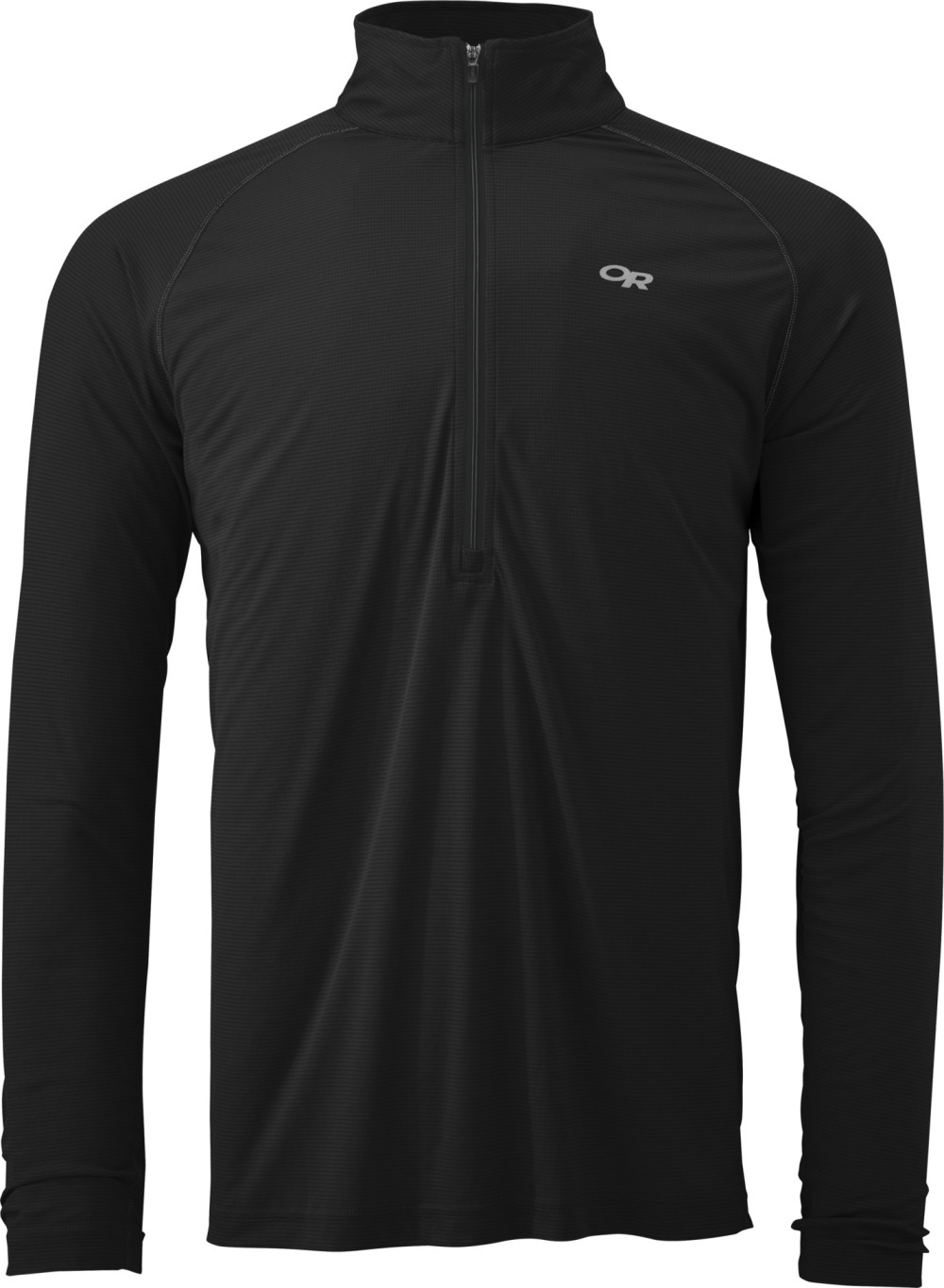 photo: Outdoor Research Echo L/S Zip Tee long sleeve performance top