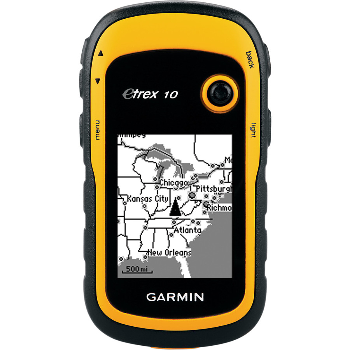photo: Garmin eTrex 10 handheld gps receiver
