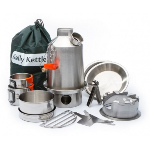 photo: Kelly Kettle Ultimate Stainless Scout Kit wood stove