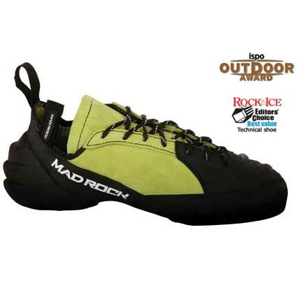 photo: Mad Rock Hooker Lace climbing shoe