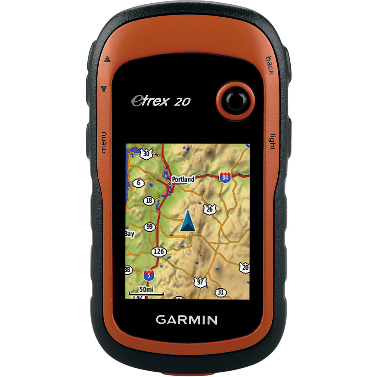 photo: Garmin eTrex 20 handheld gps receiver