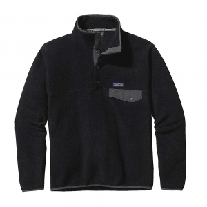 photo: Patagonia Men's Lightweight Synchilla Snap-T Pullover fleece jacket