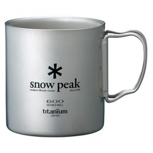 Snow Peak Titanium Double Wall 600 Cup