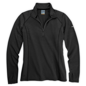 photo: EMS Women's Techwick Midweight 1/2 Zip base layer top