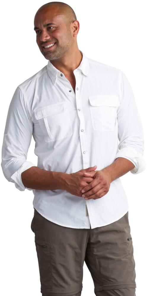 photo: ExOfficio BugsAway Halo Long-Sleeve Shirt hiking shirt