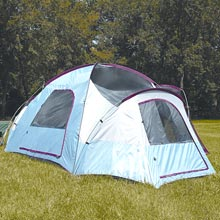 photo: Texsport Mt. Airy 3-Room Dome warm weather tent