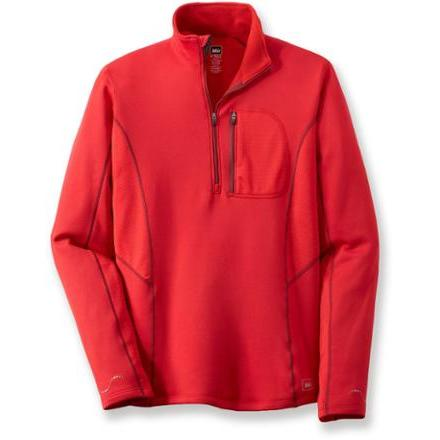 photo: REI Powerflyte Half-Zip Top fleece top