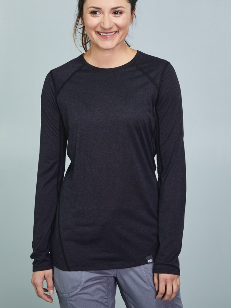 photo: REI Women's Lightweight Base Layer Crew base layer top