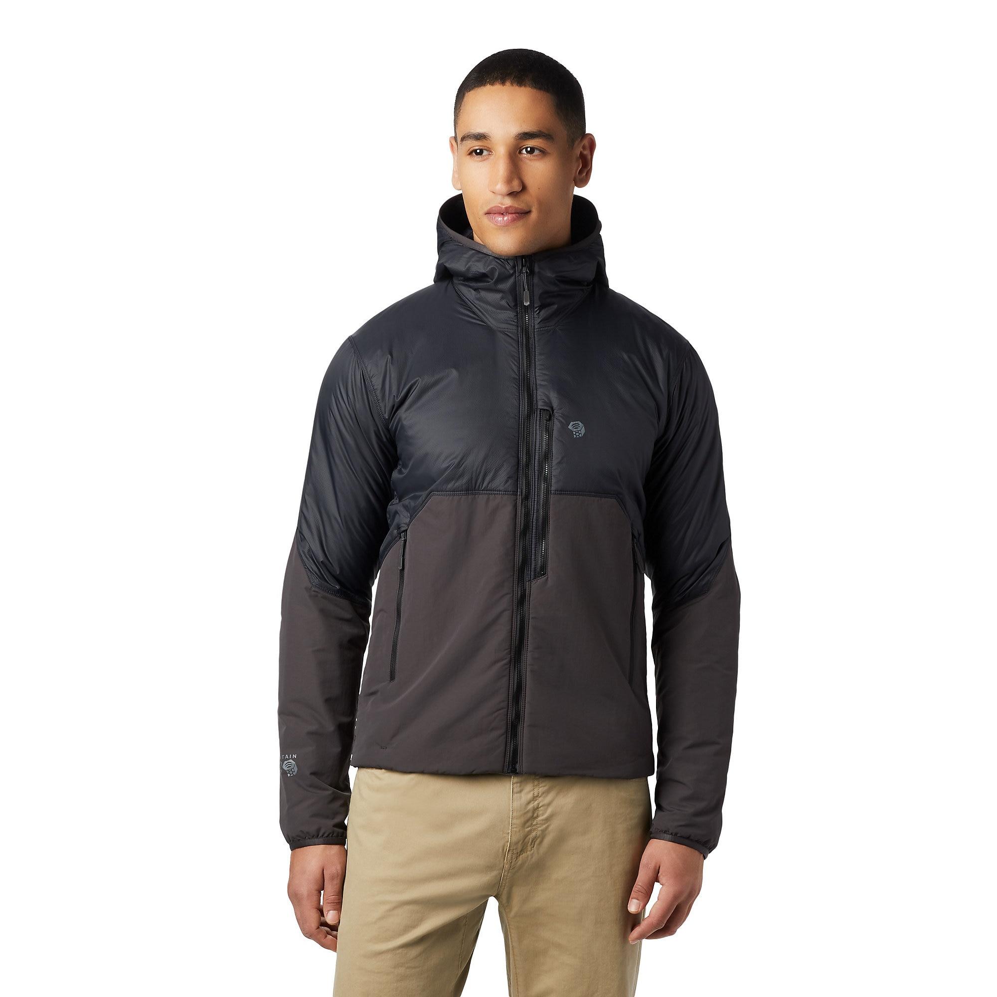 photo: Mountain Hardwear Men's Compressor Hoody synthetic insulated jacket