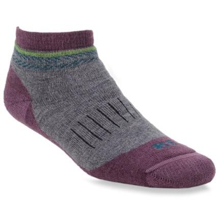 photo: REI Merino Light Hiker Quarter Sock hiking/backpacking sock