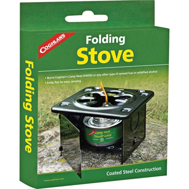 photo: Coghlan's Folding Stove solid fuel stove