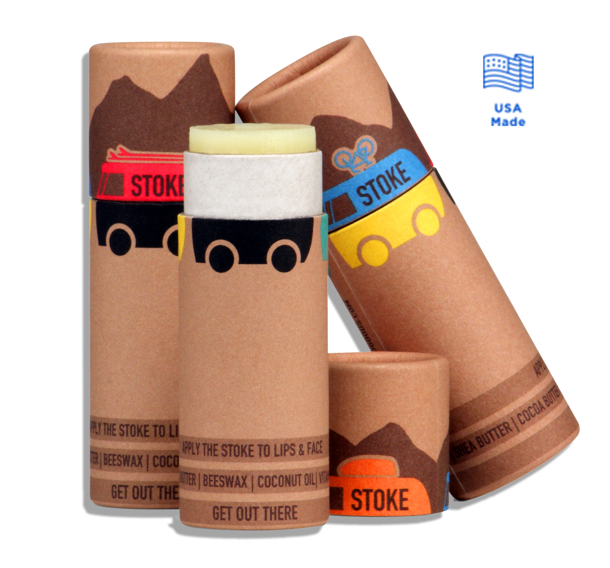 Stoked Goods Stoke Lip & Face Balm