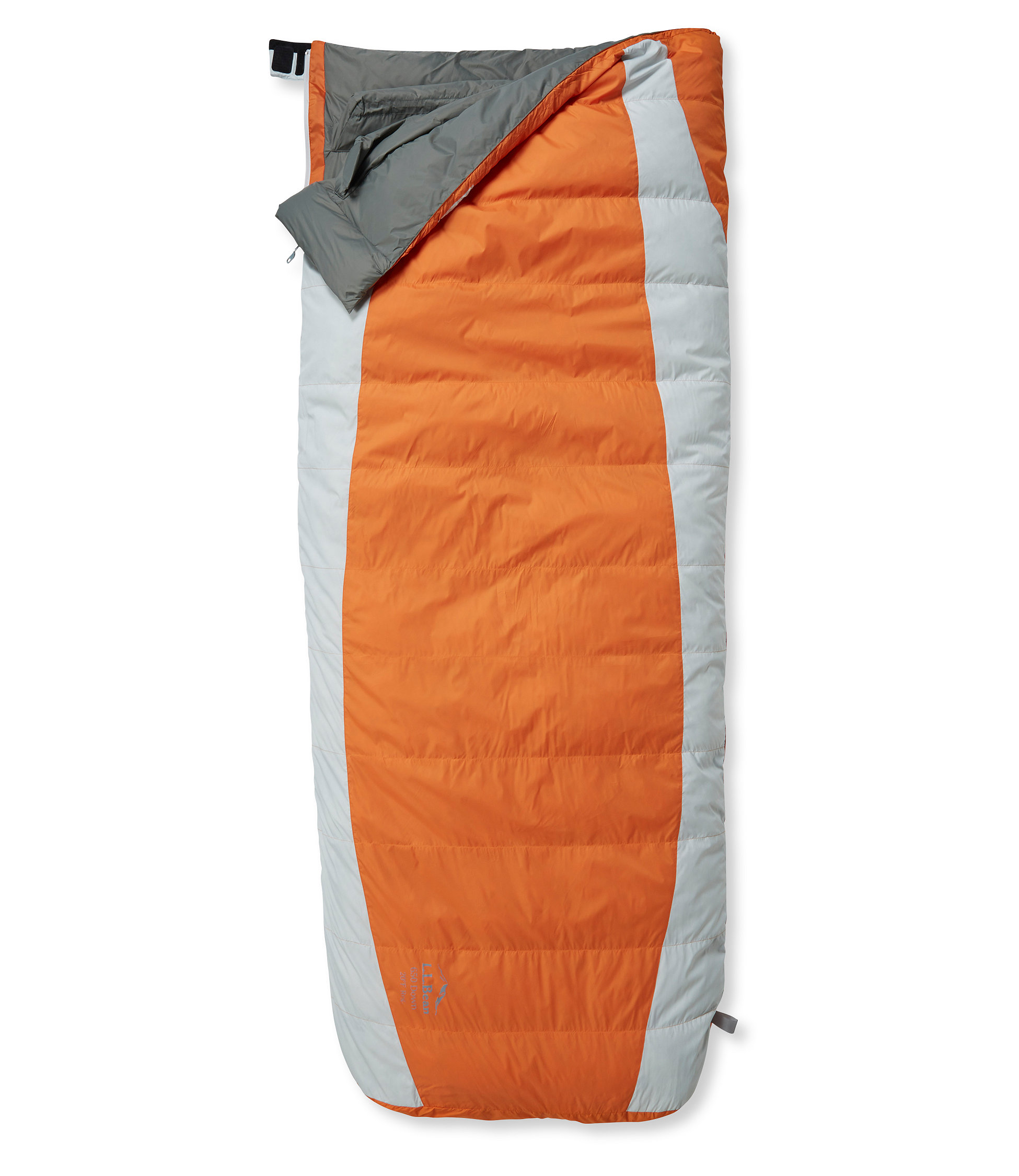 L.L.Bean Down Sleeping Bag with DownTek, Rectangular 20°