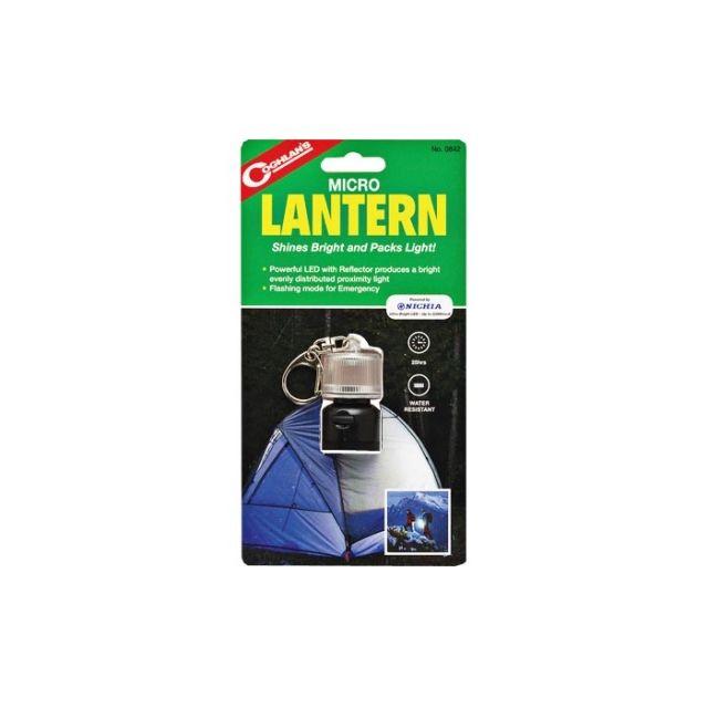photo: Coghlan's LED Micro Lantern battery-powered lantern